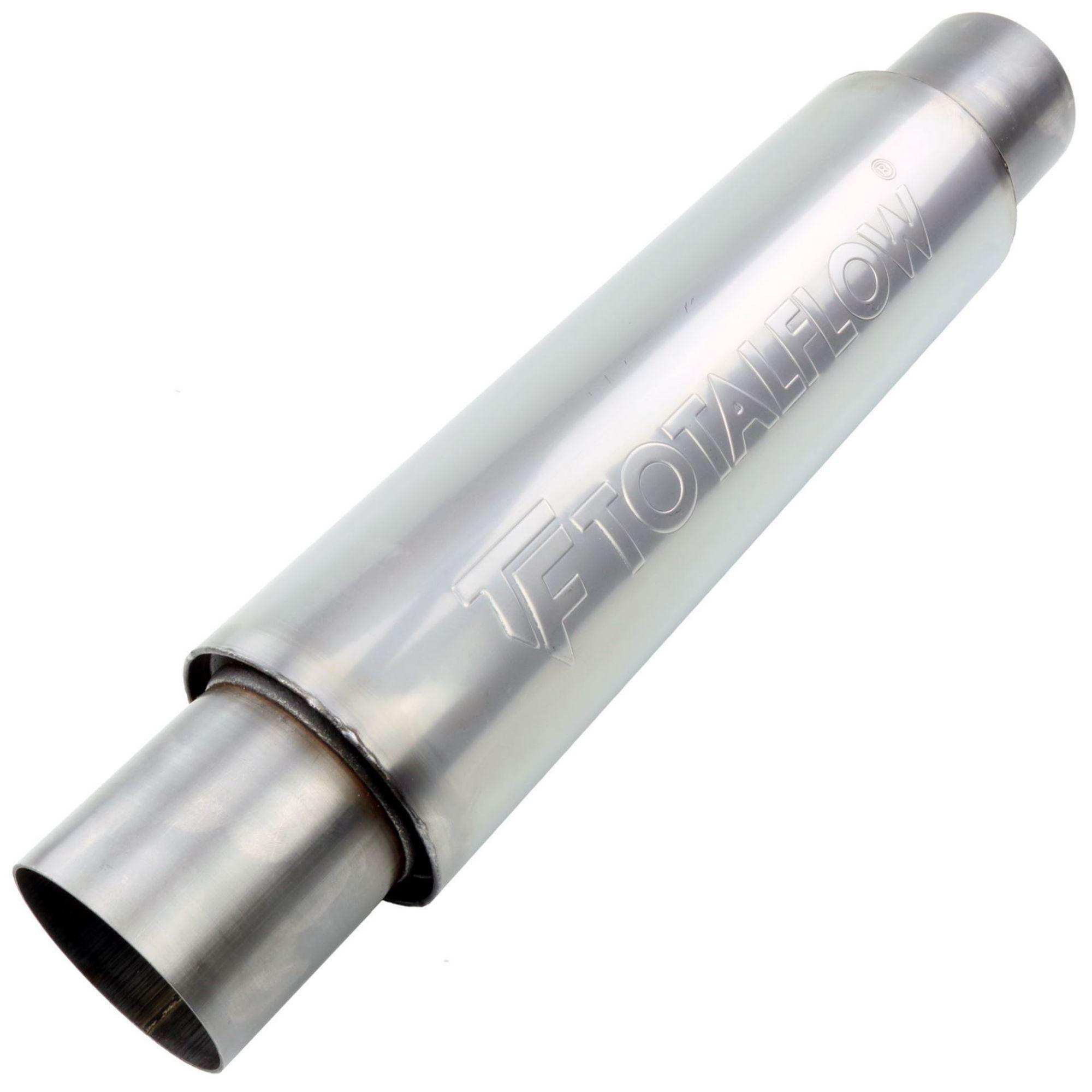 TOTALFLOW 22116 Straight Through Universal Exhaust Muffler - 2.5 Inch ID