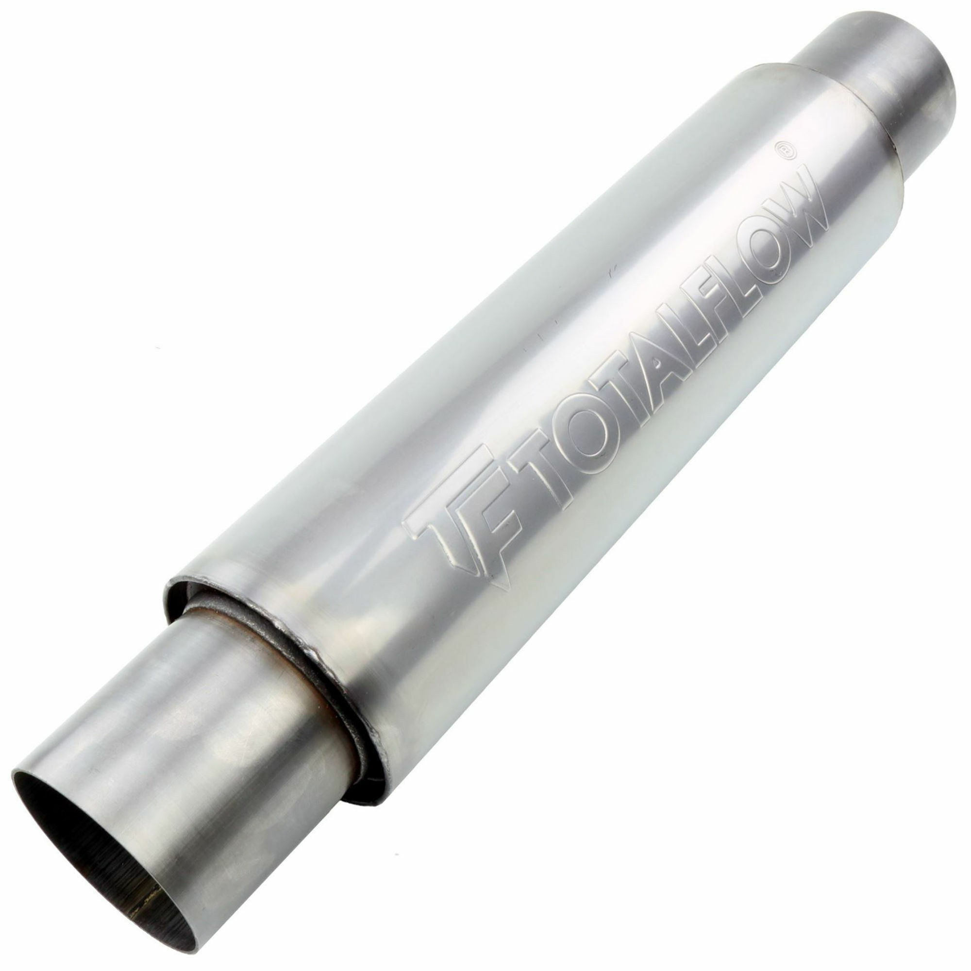 TOTALFLOW 22215 Straight Through Universal Exhaust Muffler - 2.25 Inch ID