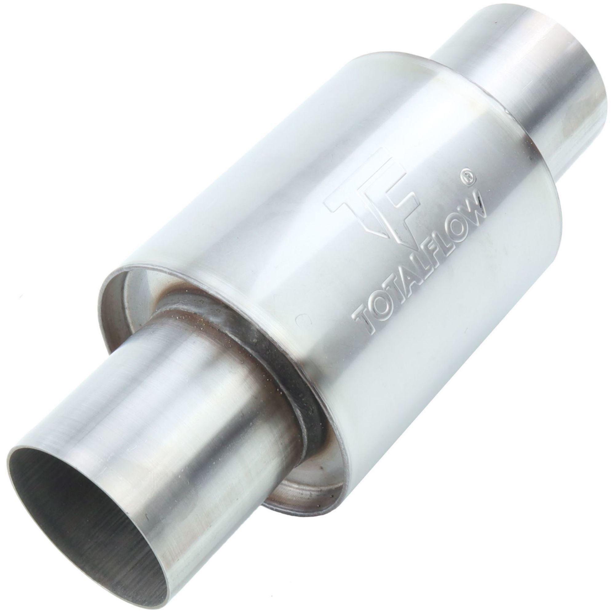TOTALFLOW 22321 Straight Through Universal Exhaust Muffler - 4 Inch ID