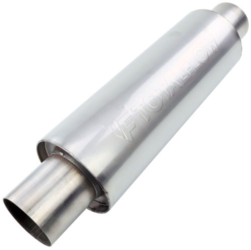 TOTALFLOW 22414 Straight Through Universal Exhaust Muffler - 2 Inch ID