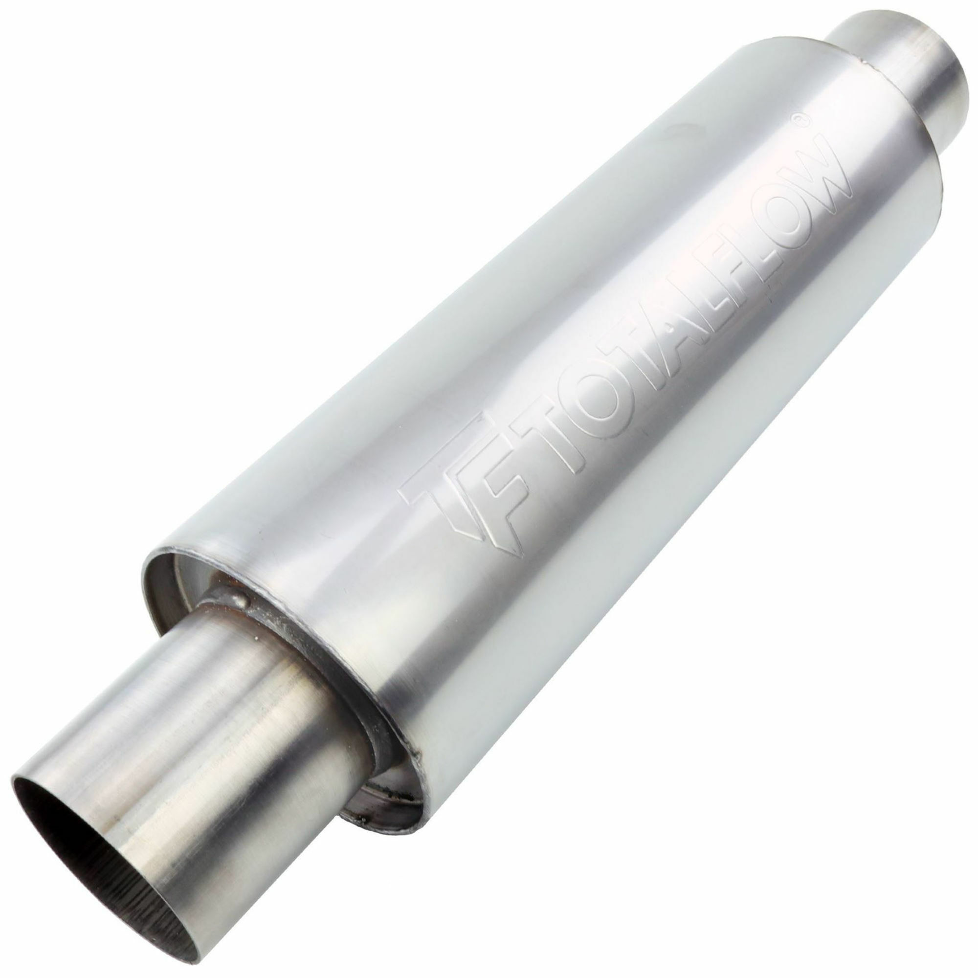 TOTALFLOW 22419 Straight Through Universal Exhaust Muffler - 3 Inch ID