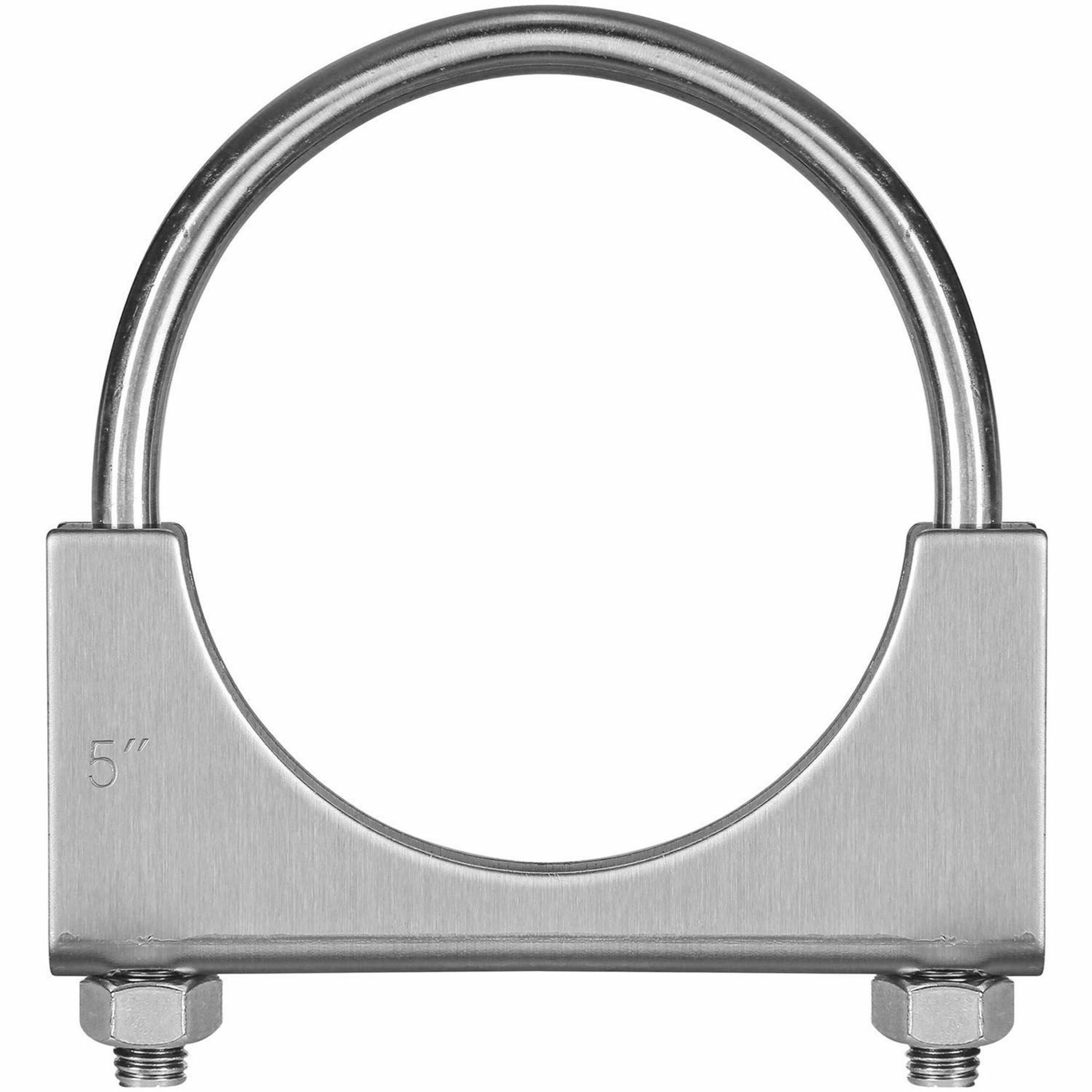 Picture of TOTALFLOW TF-U500 U-Bolt | Saddle Exhaust Muffler Clamp Band | 5 Inch