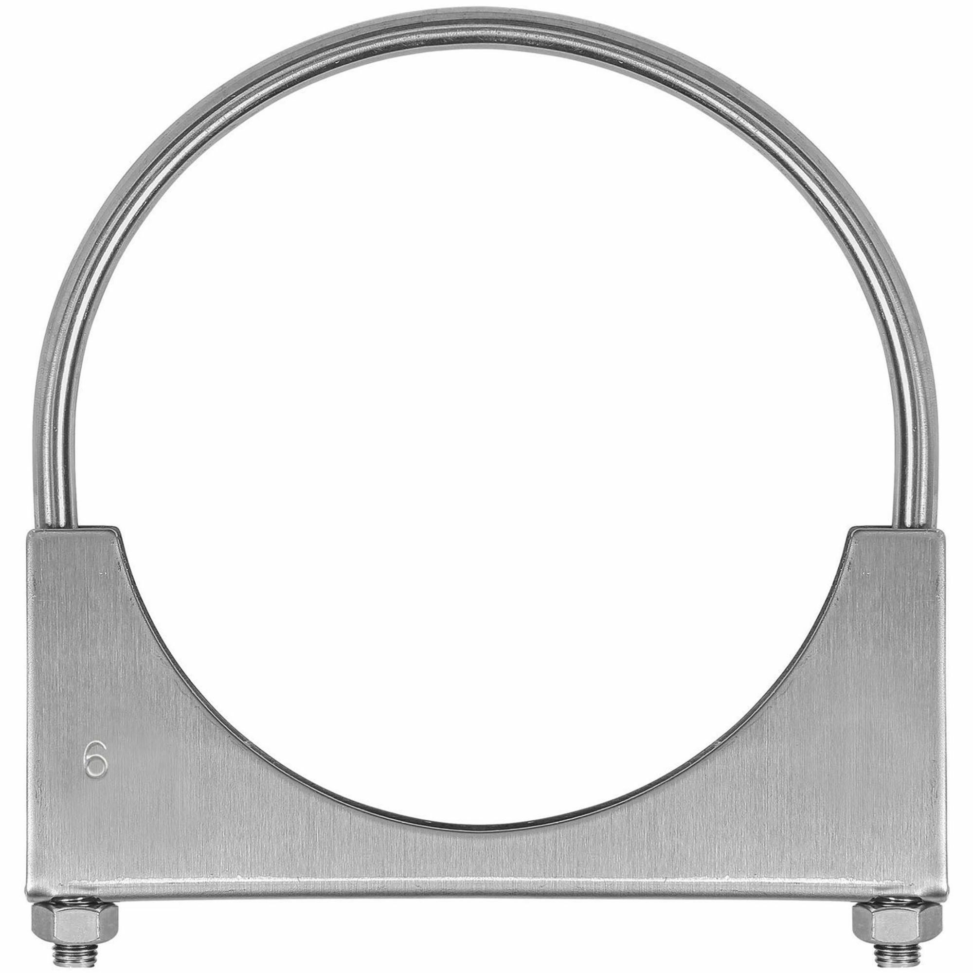 TOTALFLOW TF-U600 U-Bolt | Saddle Exhaust Muffler Clamp Band | 6 Inch
