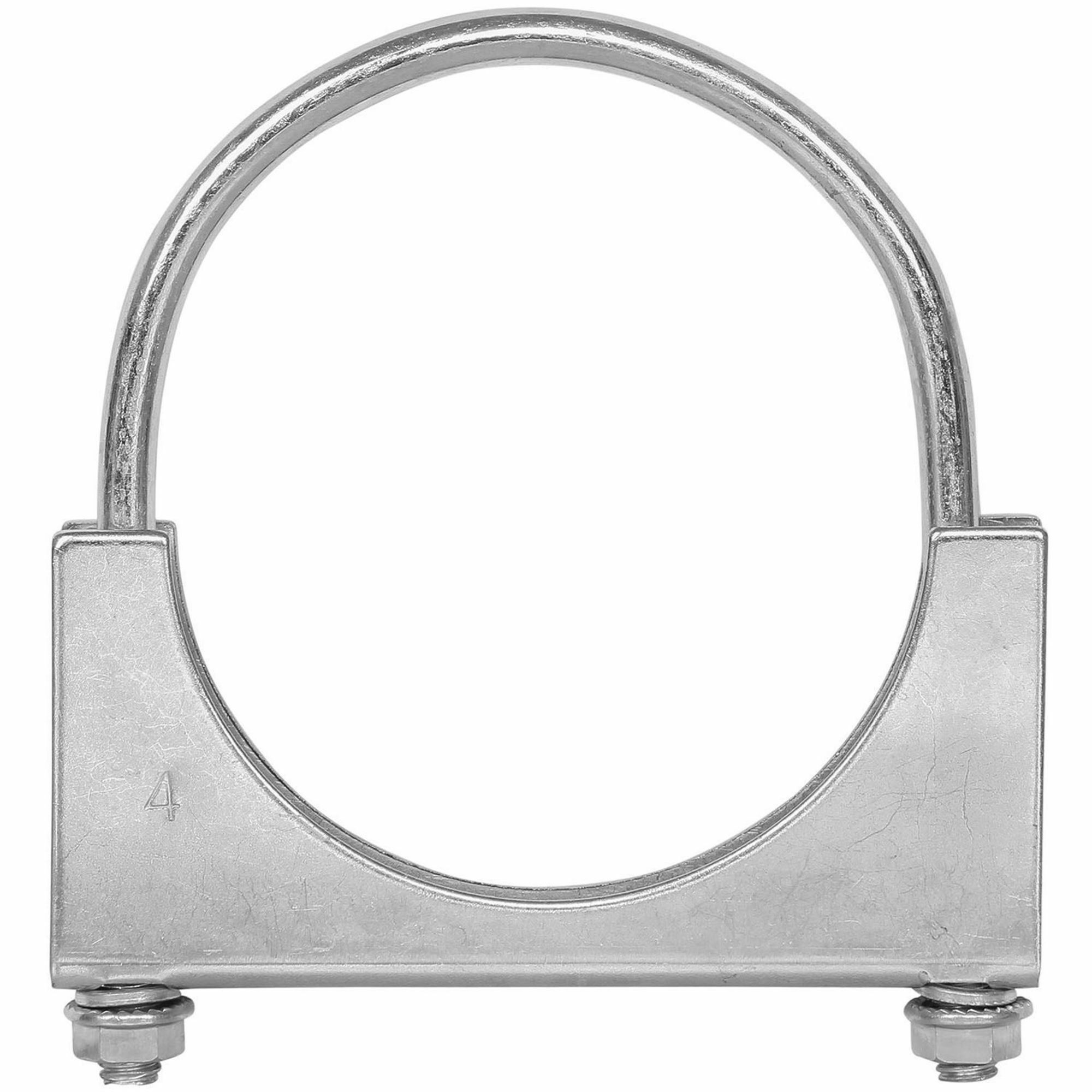 Picture of TOTALFLOW TF-UZ400 U-Bolt | Saddle Exhaust Muffler Clamp Band | 4 Inch
