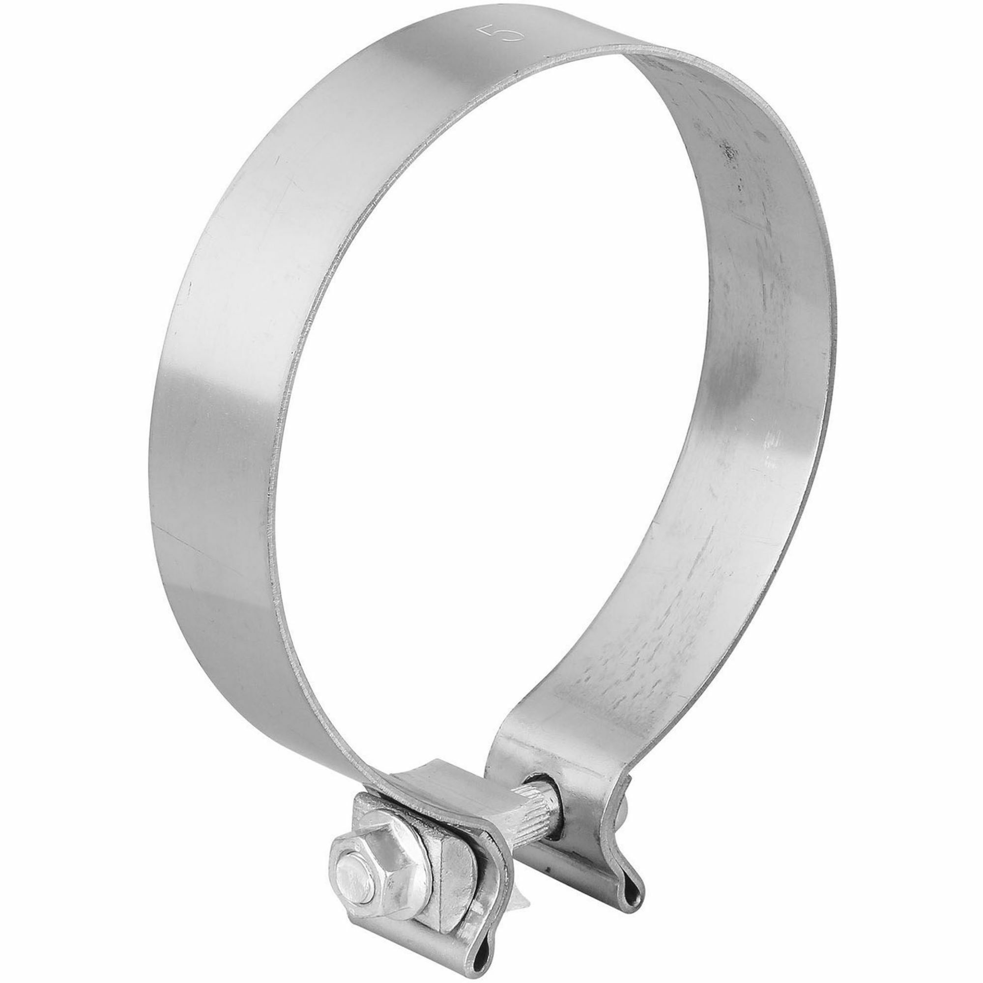 TOTALFLOW TF-500SS Single Bolt Exhaust Muffler Clamp Band | 5 Inch