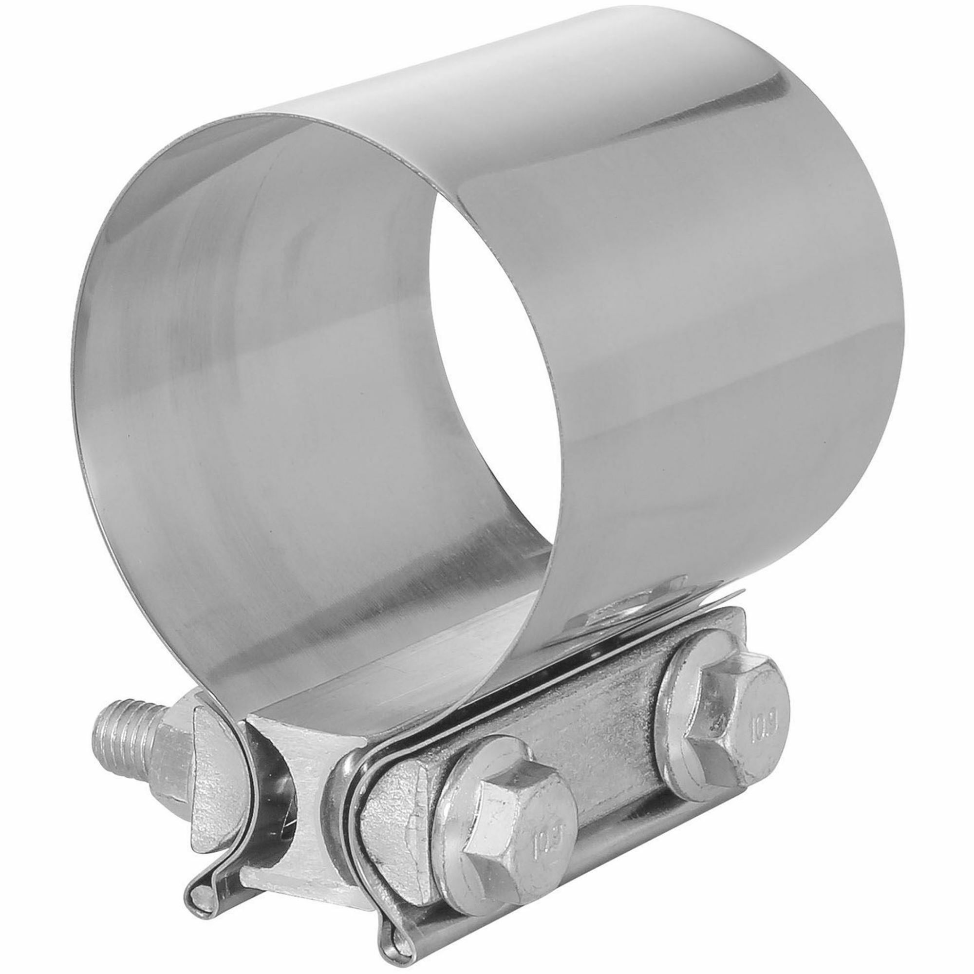 TOTALFLOW TF-JB58 Butt Joint Exhaust Muffler Clamp Band   2.5 Inch