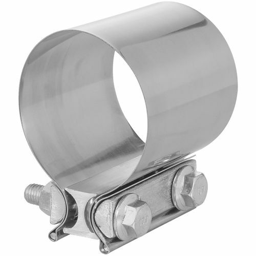 TOTALFLOW TF-JB62 Butt Joint Exhaust Muffler Clamp Band | 4 Inch