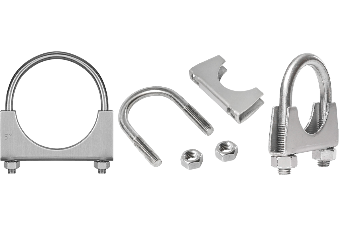 Picture for category U-Bolt | Saddle Exhaust Muffler Clamps