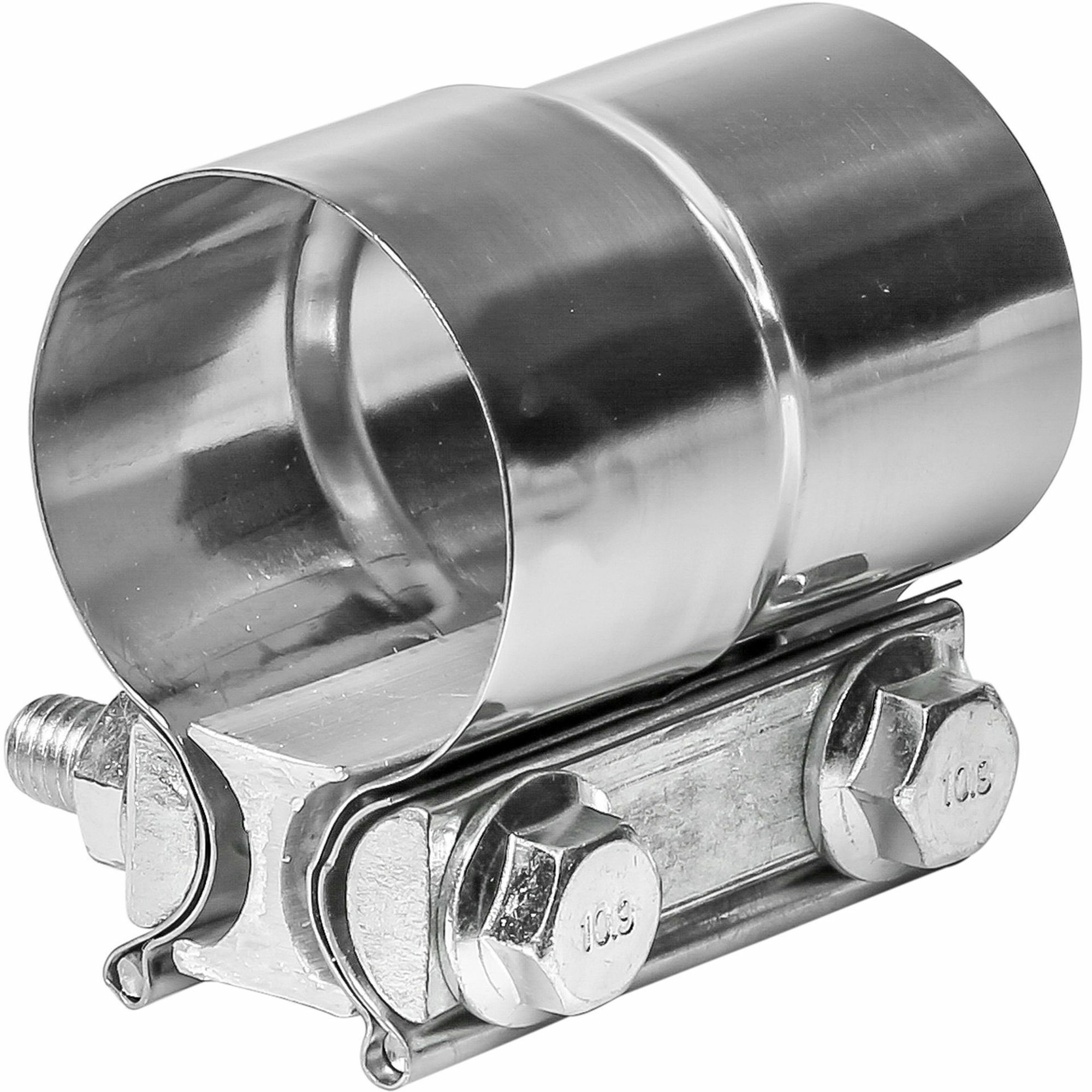 TOTALFLOW TF-J56 Lap Joint Exhaust Muffler Clamp Band | 2 Inch