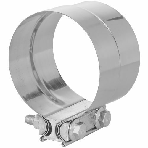 """TOTALFLOW TF-J62 Lap Joint Exhaust Muffler Clamp Band 