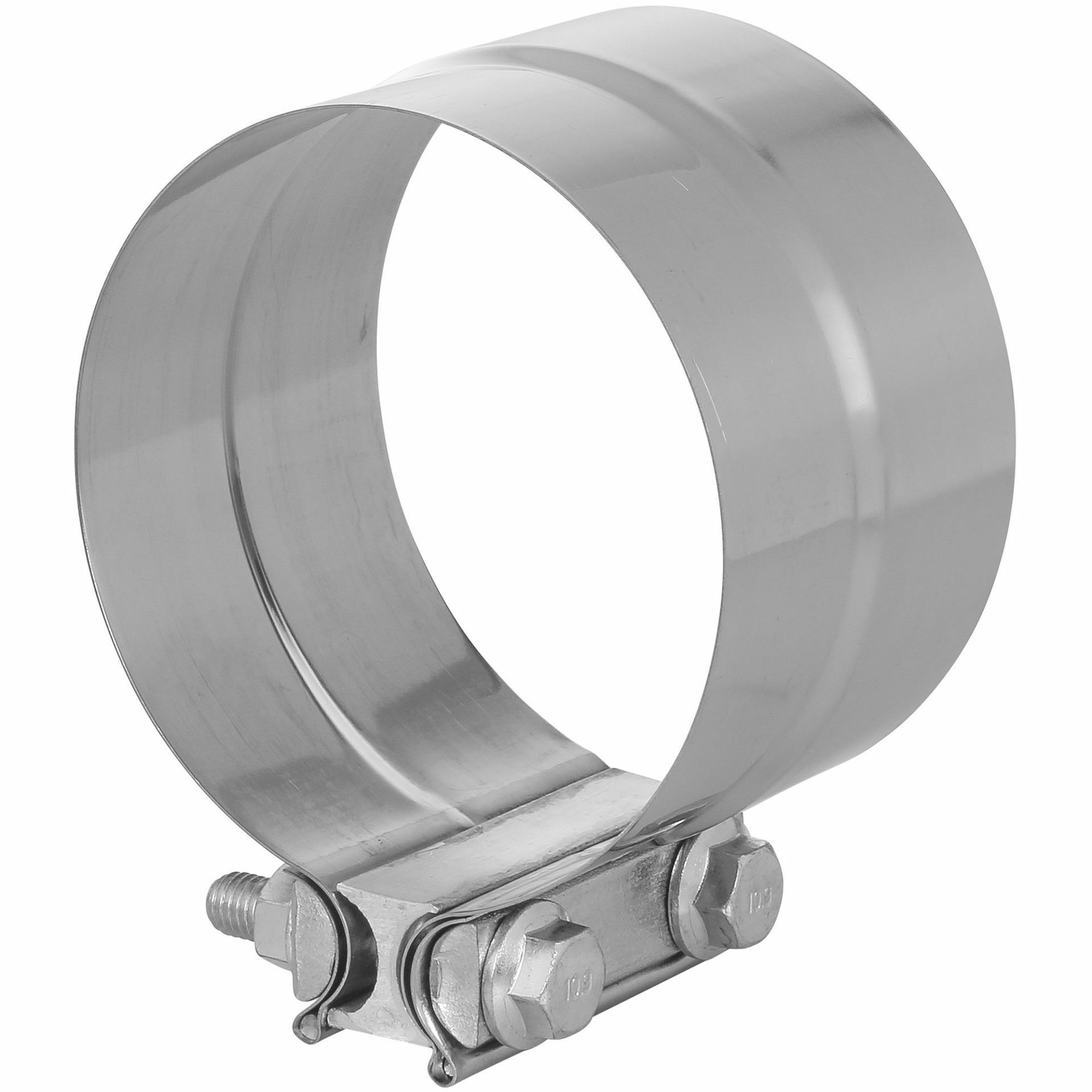 """TOTALFLOW TF-J63 Lap Joint Exhaust Muffler 4-1/2"""" Inch Clamp Band 