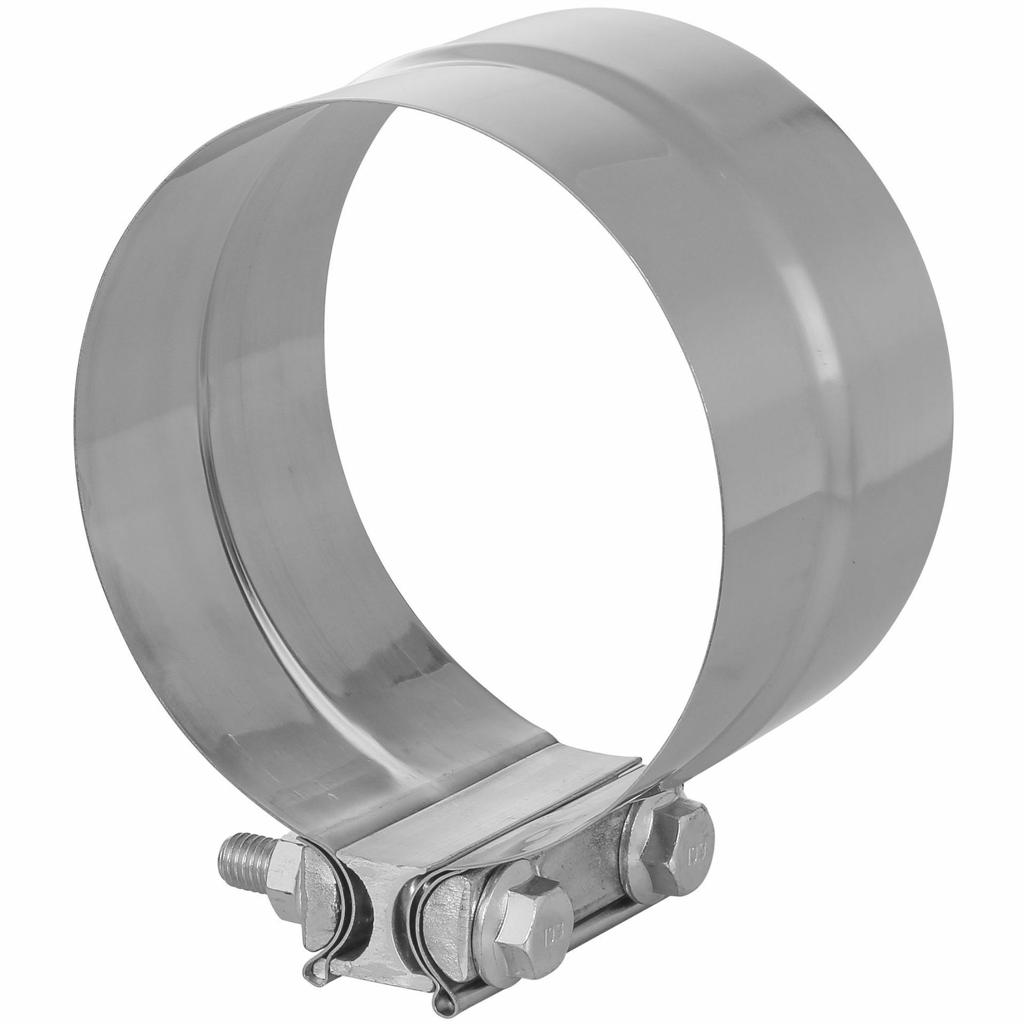 TOTALFLOW TF-J64 Lap Joint Exhaust Muffler Clamp Band | 5 Inch