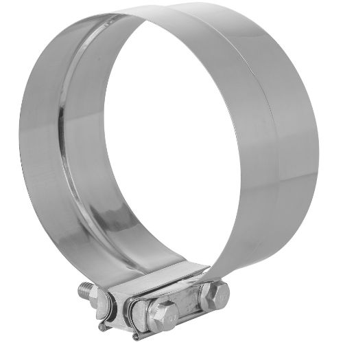 TOTALFLOW TF-J65 Lap Joint Exhaust Muffler Clamp Band   6 Inch